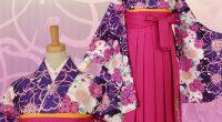 A023 紫 八重桜