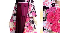R1579 黒茶 赤ぼかし 乙女桜☆