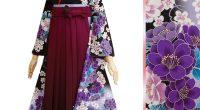 R1766 黒 紫ぼかし 乙女桜