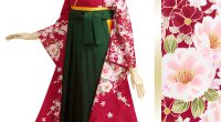 R292 【訳あり】ルビーの赤 八重桜(R086) 襦袢:振/L 季節:
